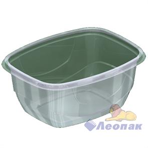 Емкость-контейнер УК-377А б/крышки 300г. прямоуг. 142х102х44 (720) Каштан