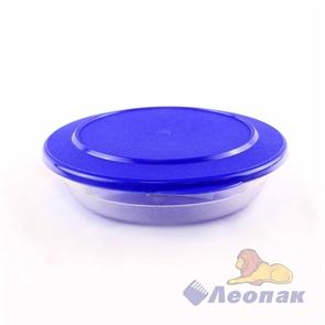 Контейнер круглый плоский 0.35л (180х50мм) (60шт.) / Стандарт