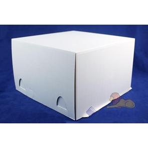 Коробка для тортов белая ЕВ 190 300*300*190 до 5кг (50шт/кор.)
