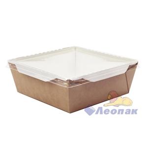 Упаковка ECO OpSalad 1000  (150шт/1кор) салатник с прозр.крышкой 200*140  h55