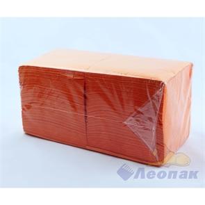 Салфетка оранжевые Форест меш (400шт/15уп) 24х24см