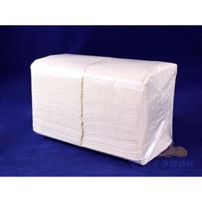Салфетка белая Форест меш (400шт/15уп) 24х24см