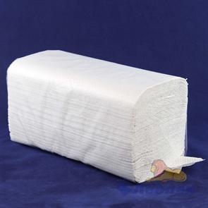 Полотенца бумажные листовые 1-сл. (15уп=200лист) V сл. белые ЦЕЛЛЮЛОЗА  арт.20023/15, 1291505 / ЭКО