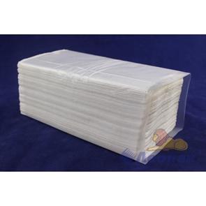 Полотенца бумажные листовые белые 1-сл. (20уп=200лист) V 25/200  LOTTI PROF  Пенза