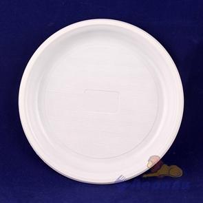 Тарелка  десертная белая d=220мм (50/2100) /Чайковский