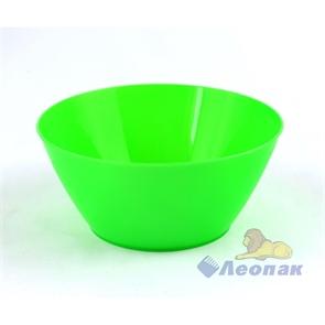 Салатник 0,6л зеленый (60шт)