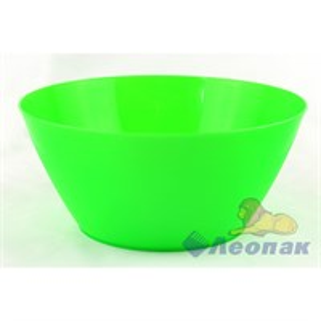 Салатник 2,5л зеленый (30шт)
