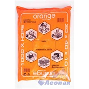 П/ф 30х40-10мкм (1/8уп) Orange пласты СП 1120650008