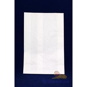 Пакет бумажный 120х110х35мм б/печати (100шт/уп)