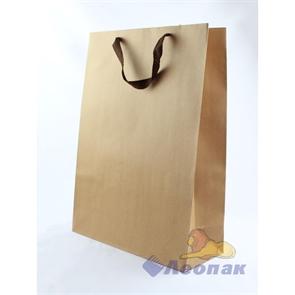 L140 Пакет бумажный Крафт 32*44*13 (12шт/18уп)