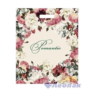П-выр.ручка 38х45-60мкм  Благородные цветы  ламинат (50/500) ТИКО