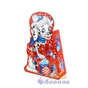 Коробка д/новог.подарков  Далматинец Лаки  до 0,5кг (250) /Енисей   EN-4/18