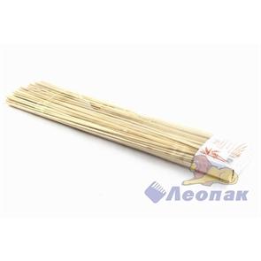 Стеки для шашлыка бамбук 30см (100шт/100уп) LINGER