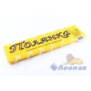 Скатерть 110 х 140см  ПОЛЯНКА  (1шт/70шт) желтая  из неткан. матер.