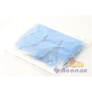 Перчатки одноразовые (100шт/100уп)  L  голубые ЛЕОПАК