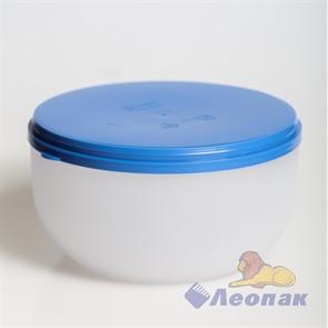 Контейнер круглый 1.2л (162х80мм) для СВЧ (59шт.)/ Стандарт