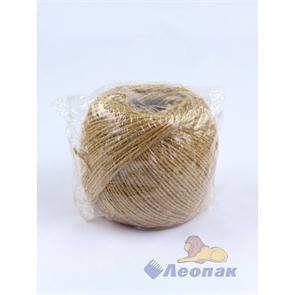 Шпагат джутовый 2-х ниточный 200м (1/80шт) 1,12 эконом