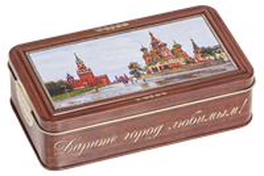 Набор конфет  Городничев  110 гр.  Кремль  (24 шт.) г.Москва