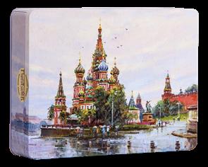 Набор конфет  Городничев  220 гр.  Собор Василия Блаженного  (12 шт.) г.Москва