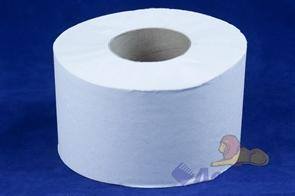 Бумага туалетная  ТБ 200  с/вт. (12шт) 1-сл., серая, 2 сорт