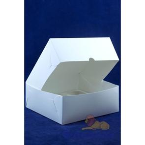 Короб картонный под 9 капкейков с ОКНОМ 250*250*100 мм (100шт/кор) Cup9.250.250.100