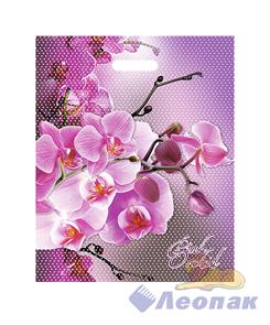 П-выр.ручка 38х47-60мкм  Орхидея розовая   (25/1000) Нео-Пак