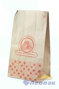 Пакет бумажный 180*110*315 с печатью   На вынос  КРАФТ Картония (500шт/кор)